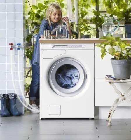 ASKO W6884 ECO wasmachine met warm en koud water aansluiting
