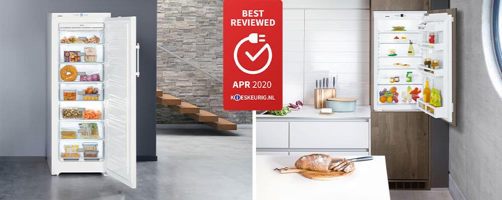 Best Reviewed Kieskeurig voor Liebherr koelkast IK1920 en vriezer GNP2713
