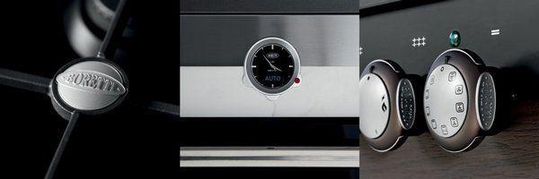 De Collezione Maggiore is beschikbaar in kookplaten, ovens, fornuizen, afzuigkappen e.d