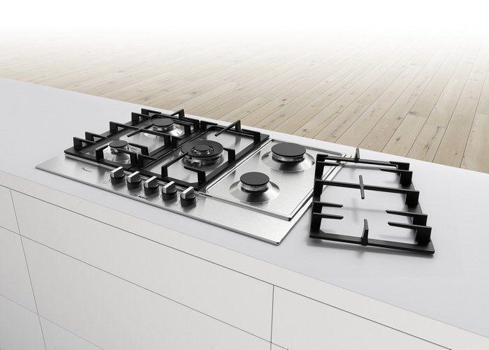 De nieuwe Flameselect kookplaten van Bosch beschikken over robuuste pandragers