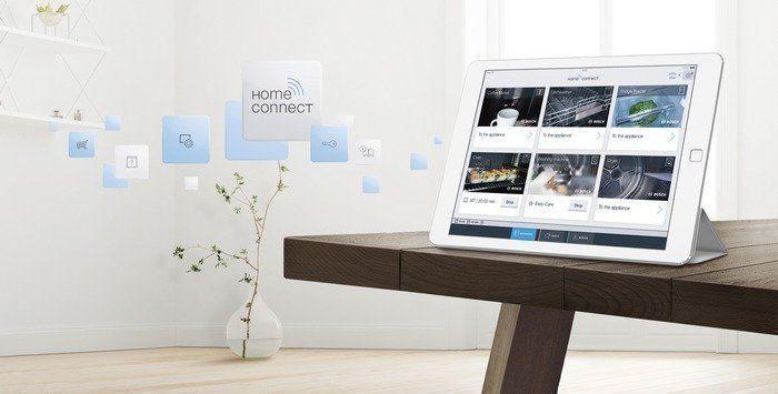 Eenvoudig onderdelen en accessoires bestellen via de app van HomeConnect
