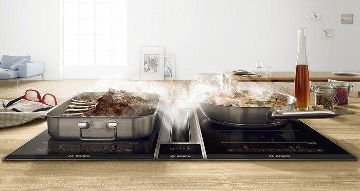 Voor Flex inductie kookplaten zijn diverse accessoires verkrijgbaar zoals grillplaat, bakplaat, braadslede etc