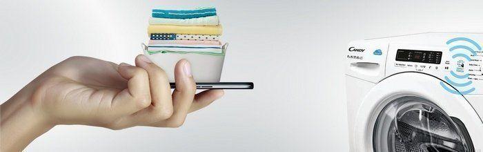Uitleg over de Smart Touch op Candy wasmachines