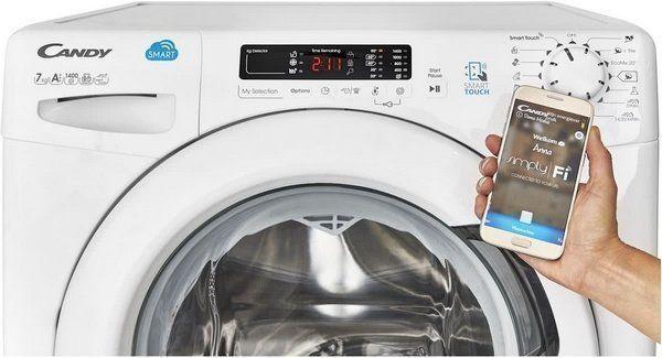 De Smart Touch functie is zeer eenvoudig te installeren. Zet NFC aan op uw wasmachine en hou uw telefoon vervolgens bij het Smart Touch logo, de rest wijst zich vanzelf.