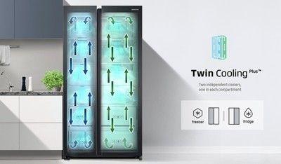 De nieuwe serie beschikt over Twin Cooling en heeft een ruime inhoud