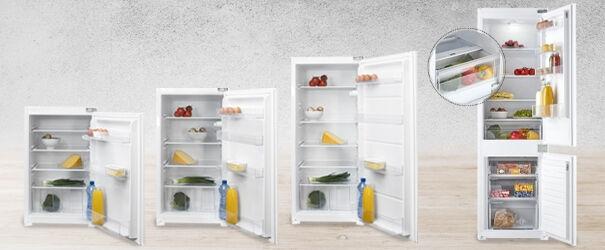 Nieuwe inbouw koelkasten van Inventum
