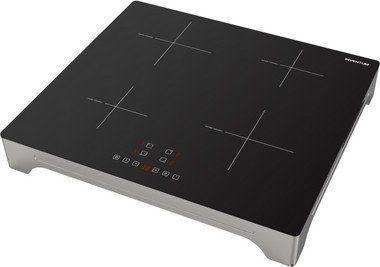 De nieuwe Inventum VKI6010ZIL is een vrijstaande inductie kookplaat welke op een normaal 230 Volt stopcontact kan worden aangesloten.