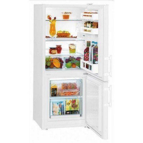 De Liebherr CU2311 is een zeer praktische koelkast: slechts 135 cm hoog maar wel met vrieslades beneden