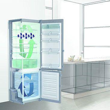 Dankzij het vernieuwde DuoCooling systeem kunnen Liebherr combi-koelkasten van 60 cm. breed in een omgevingstemperatuur tot -15 graden functioneren
