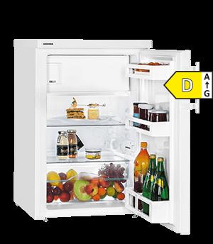 Zuinige Liebherr koelkast TP1444 tafelmodel