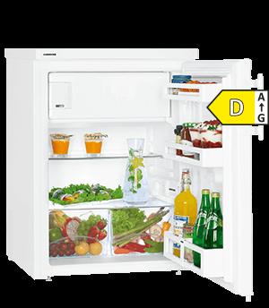 Zuinige Liebherr TP1744 koelkast tafelmodel