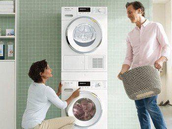 Een wasmachine voor een samenwonende situatie stelt andere eisen dan een gezin