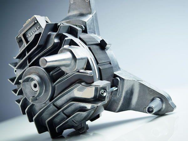 De ProfiEco-motor in combinatie met het contragewicht van gietijzer zorgen voor een zeer hoge kwaliteit