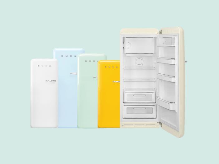 Retro Smeg Koelkast : Volledig nieuwe lijn smeg retro jaren koelkasten
