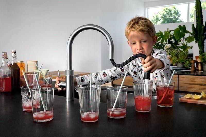 De nieuwe Quooker Flex keukenkraan is zeer veilig, maar bovenal heel handig in gebruik