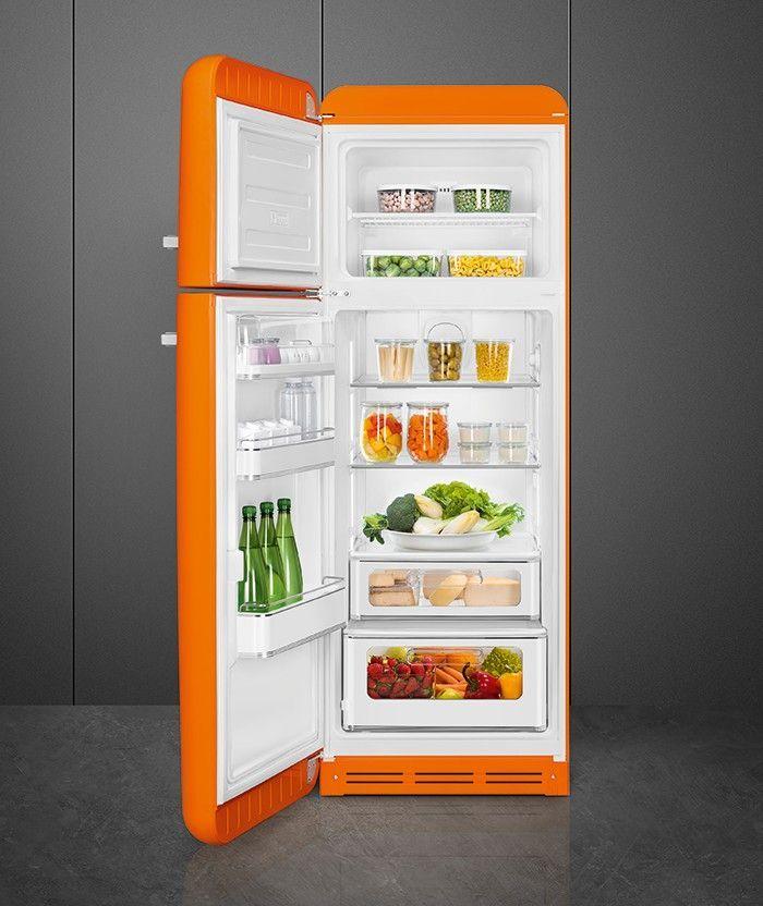 Ontdek de verbeteringen bij de nieuwe SMEG FAB30 koelkasten