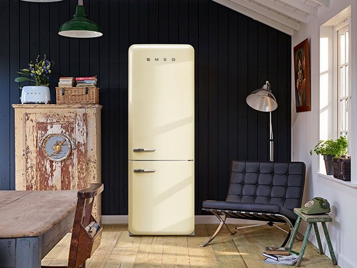 Ontdek de nieuwe Smeg FAB38 retro jaren 50 koelkast