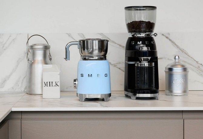 Smeg bonenmaler / koffiemolen CFG01