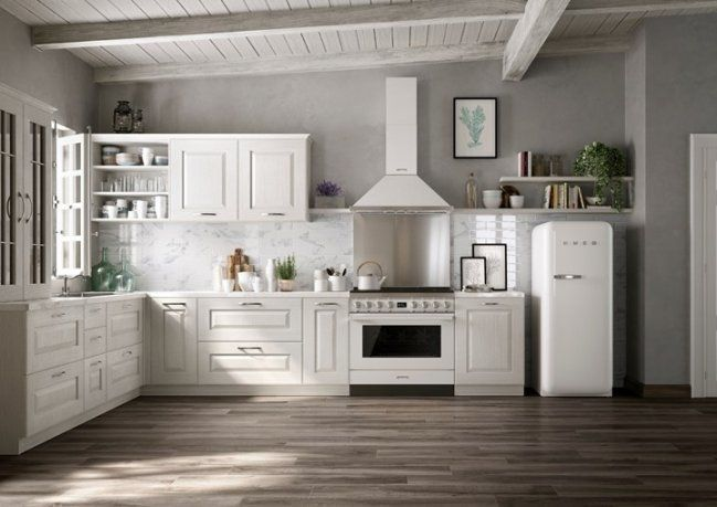 De Smeg Portofino fornuizen zijn fraai te integreren in iedere keuken