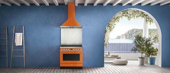 De nieuwste fornuizen van Smeg: Portofino serie. Leverbaar in verschillende kleuren