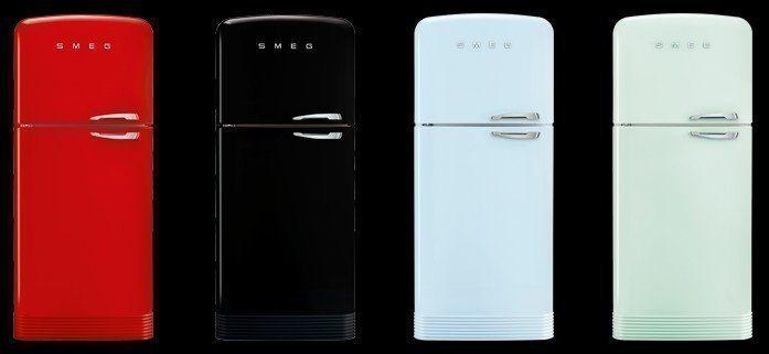 Overzicht van het nieuwe assortiment FAB50 koelkasten