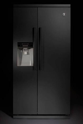 Steel All Black side-by-side koelkasten