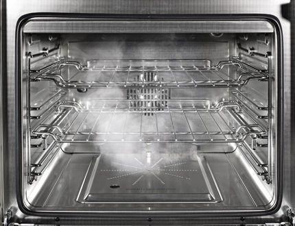 De combi-stoom techniek in Steel fornuizen en ovens is onderscheidend en een grote meerwaarde.