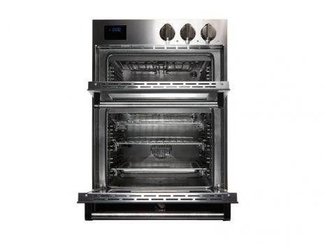 Steel dubbele inbouw oven GFFE6-S